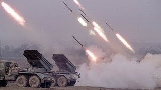 getlinkyoutube.com-Warplanes and Helicopters Support Multiple Launch Rocket Systems
