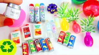 10 Easy DIY Miniature Crafts - each in less than 1 minute #1