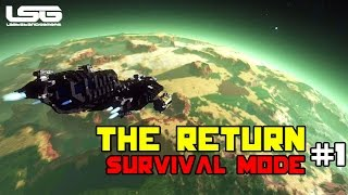 getlinkyoutube.com-Space Engineers -  The Return , Drone Wars  SE4 - Part 1