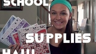 getlinkyoutube.com-College School Supply Haul! (and other stuff)