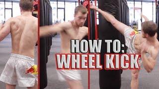 getlinkyoutube.com-How to Wheel Kick or Spinning Back Heel Kick