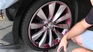 getlinkyoutube.com-Sonax Wheel Cleaner Plus First Impression