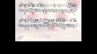 getlinkyoutube.com-ピアノ楽譜で Good-bye Chalon (Long Version) Piano Version