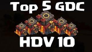 getlinkyoutube.com-Meilleures bases HDV 10 GDC - Top 5 des villages que vous devriez avoir dans votre clan