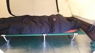 getlinkyoutube.com-ソロキャンプ 冬の寝床について考える【サーマレスト プロライトプラス】【ボイジャーコット】【ナンガ オーロラ900】【道具紹介】