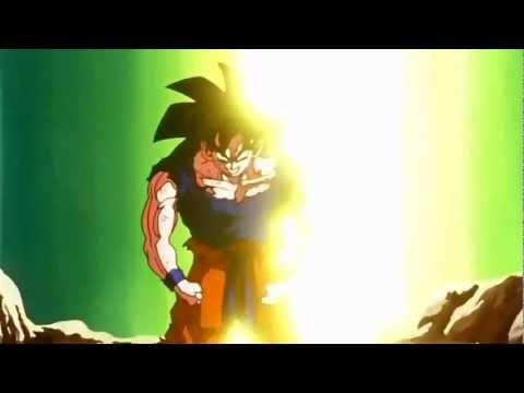 DBZ - Goku Goes Super Saiyan For The First Time (720p HD)