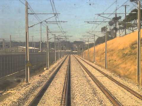 Front View from a 3000 Class Railcar - Christie Downs to Seaford