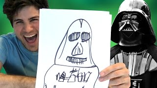 getlinkyoutube.com-STAR WARS SPEED DRAWING