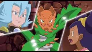 getlinkyoutube.com-Pokemon Iris vs Clair. Dragonite vs Druddigon. (Music)