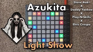 Steve Aoki   Azukita // Launchpad Light Show