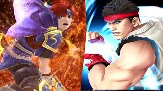 getlinkyoutube.com-Super Smash Bros 4 Ryu, Roy, Lucas, Mii, Stages Final Smash Analysis (WII U / 3DS Gameplay) All HD