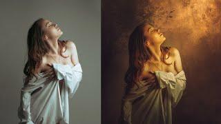 getlinkyoutube.com-Photoshop Manipulation Photo Effects Tutorial | Light on Girl