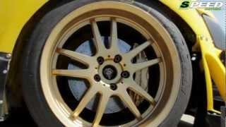 getlinkyoutube.com-Mitsubishi Lancer Evo VIII Trial Time Attack 750Ps