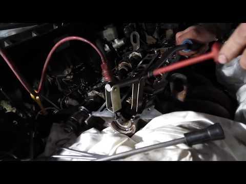 Замена маслосъёмных колпачков без снятия ГБЦ Мазда 626