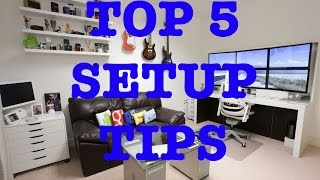 getlinkyoutube.com-Top 5 Tips For The Best Ultimate Desk Setup !
