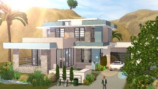 getlinkyoutube.com-The Sims 3 - Building a small modern familyhouse