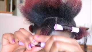 getlinkyoutube.com-Perm Rod Set on 4c Hair