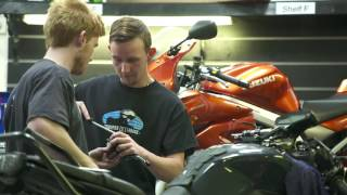 The Motorcycle Mechanic: Brenden's Story