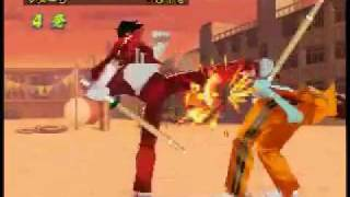 getlinkyoutube.com-Rival School 2 (Shiritsu Justice Gakuen Nekketsu Seisyun Nikki 2) COMBOS