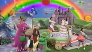 getlinkyoutube.com-Opening to Barney What a World We Share 1999 VHS