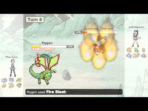 Pokemon Black2/White2 Showdown Battle vs pcthagoon