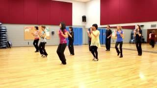 getlinkyoutube.com-CT Shuffle - Line Dance (Dance & Teach in English & 中文)