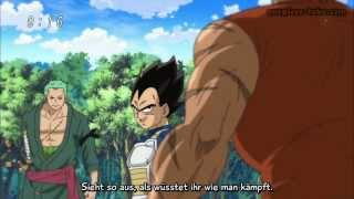 getlinkyoutube.com-Vegeta vs Zoro vs Zebra (Ger Sub) One Piece Special