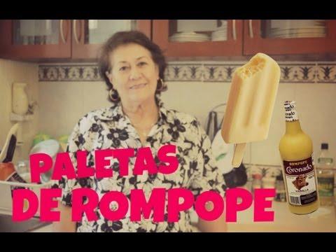 Paletas de rompope FÁCIL Y RÁPIDO ✔