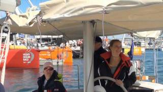 getlinkyoutube.com-Volvo Ocean Race with Laura Dekker (Cape Town)