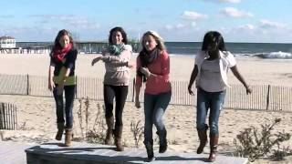getlinkyoutube.com-Kelly Clarkson, Stronger (What Doesn't Kill You) Flash Mob, Jersey Shore (Belmar)