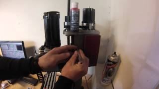 getlinkyoutube.com-Installation of limit switches Sieg X2 mill CNC, Harbor freight mill PART 1