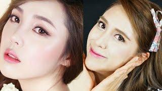 getlinkyoutube.com-WESTERN GIRL TRANSFORMED INTO KOREAN ULZZANG