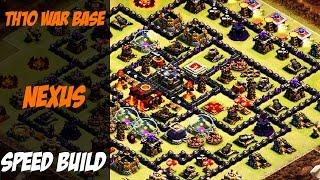 "getlinkyoutube.com-""NEXUS"" | TH10 War Base 275 Walls SPEED BUILD | Clash of Clans"