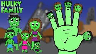 getlinkyoutube.com-Hulky Finger Family Song