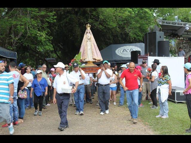 Romería de Nuestra Señora del Rescate de Ujarrás 2015