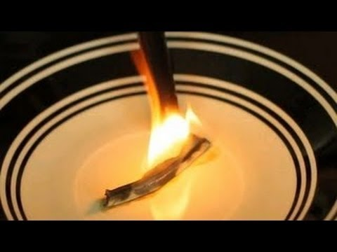 Science Magic Trick  Smoking Fingers