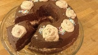 getlinkyoutube.com-مطبخ الاكلات العراقيه - كيكة الشوكولاته