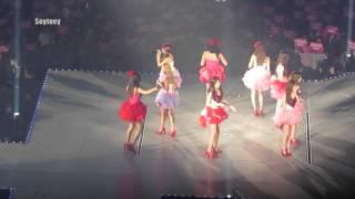 getlinkyoutube.com-[HD fancam] 140111 Girls'Generation World Tour in BKK - Forever (Thai Sone Project)