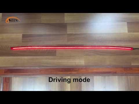 Авто дополнительный стоп сигнал с поворотом с алиэкспресса