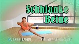 getlinkyoutube.com-MYTHOS Innenseite Oberschenkel | SCHLANKE BEINE | Übungen für zu hause & Gym | VERONICA-GERRITZEN.DE