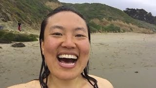 getlinkyoutube.com-Got naked at nude beach at Baker Beach San Francisco-Get out of comfort zone