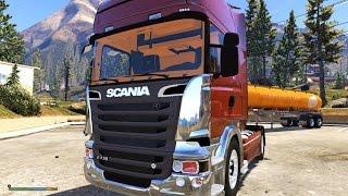 getlinkyoutube.com-GTA V - Scania R730