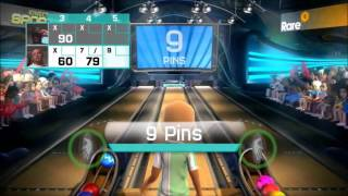 getlinkyoutube.com-Kinect Sports  - Bowling (my version) #3