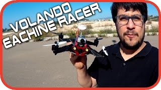 getlinkyoutube.com-Volando Eachine Racer 250 FPV + Cámara Runcam HD