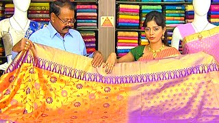 Latest All Varieties of Pattu and Fancy Designer Sarees | Sogasu Chuda Tarama | Vanitha TV