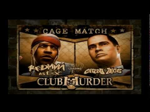 Def Jam fight for NY- Redman vs Crazylegs - Cage match