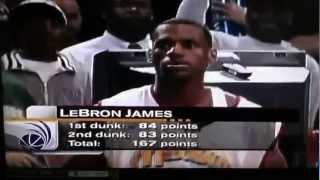 getlinkyoutube.com-Lebron James slam dunk competition: 2003