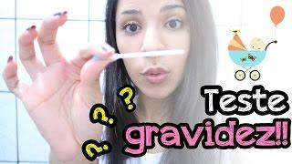 getlinkyoutube.com-Fui fazer o teste de GRAVIDEZ e olha o que DEU!!!