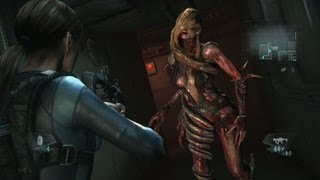 "getlinkyoutube.com-Resident Evil Revelations Walkthrough - ""Rachael"" Boss Fight {HD, PS3}"