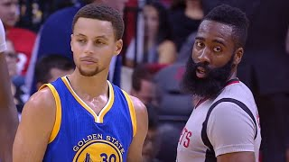 getlinkyoutube.com-Stephen Curry vs James Harden MVP Duel 2015.10.30 GSW at HOU - Curry owns it!!!